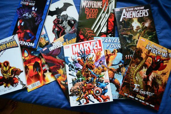 Marvel cómics cuarentena
