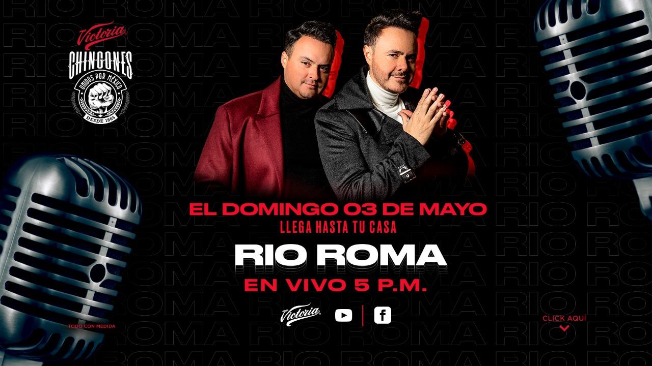 Río Roma dará un concierto a través de la plataforma de Cerveza Victoria