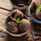 Helado de chocolate Abuelita receta cuarentena