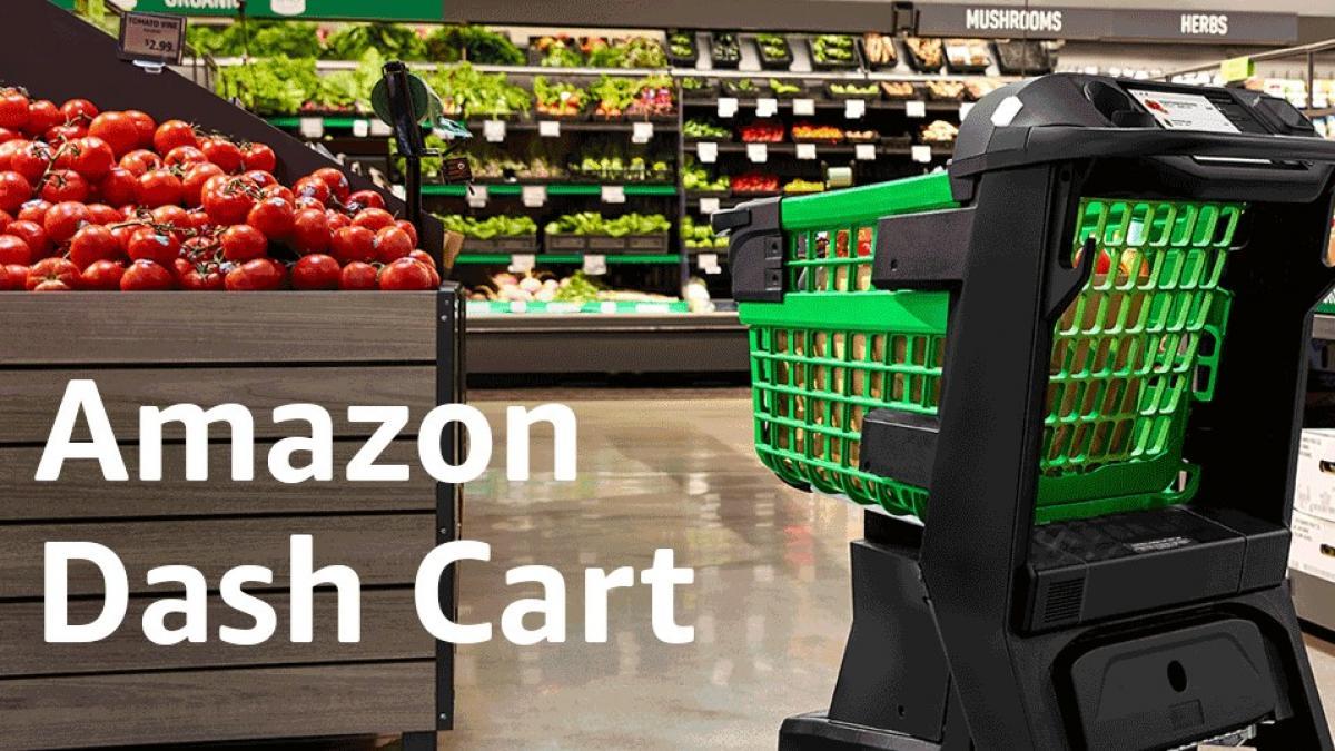 Amazon lanza carritos de supermercado inteligentes para hacer compras sin pasar por caja