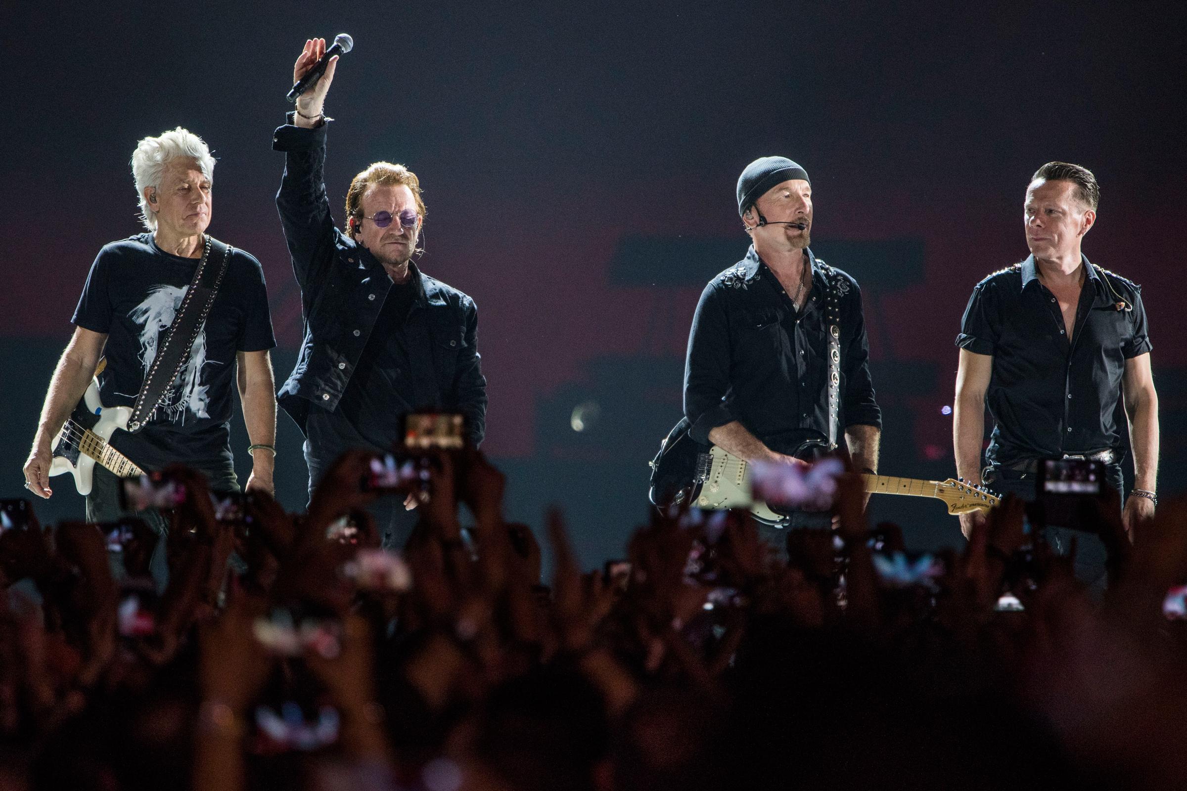 ¡No te lo puedes perder! U2 transmitirá un concierto de la gira Vertigo