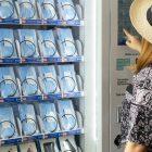 Maquinas expendedoras de cubrebocas en Ciudad de Mexico gel antibacterial proteccion COVID-19