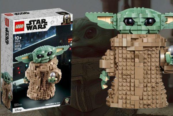 Baby Yoda set de lego