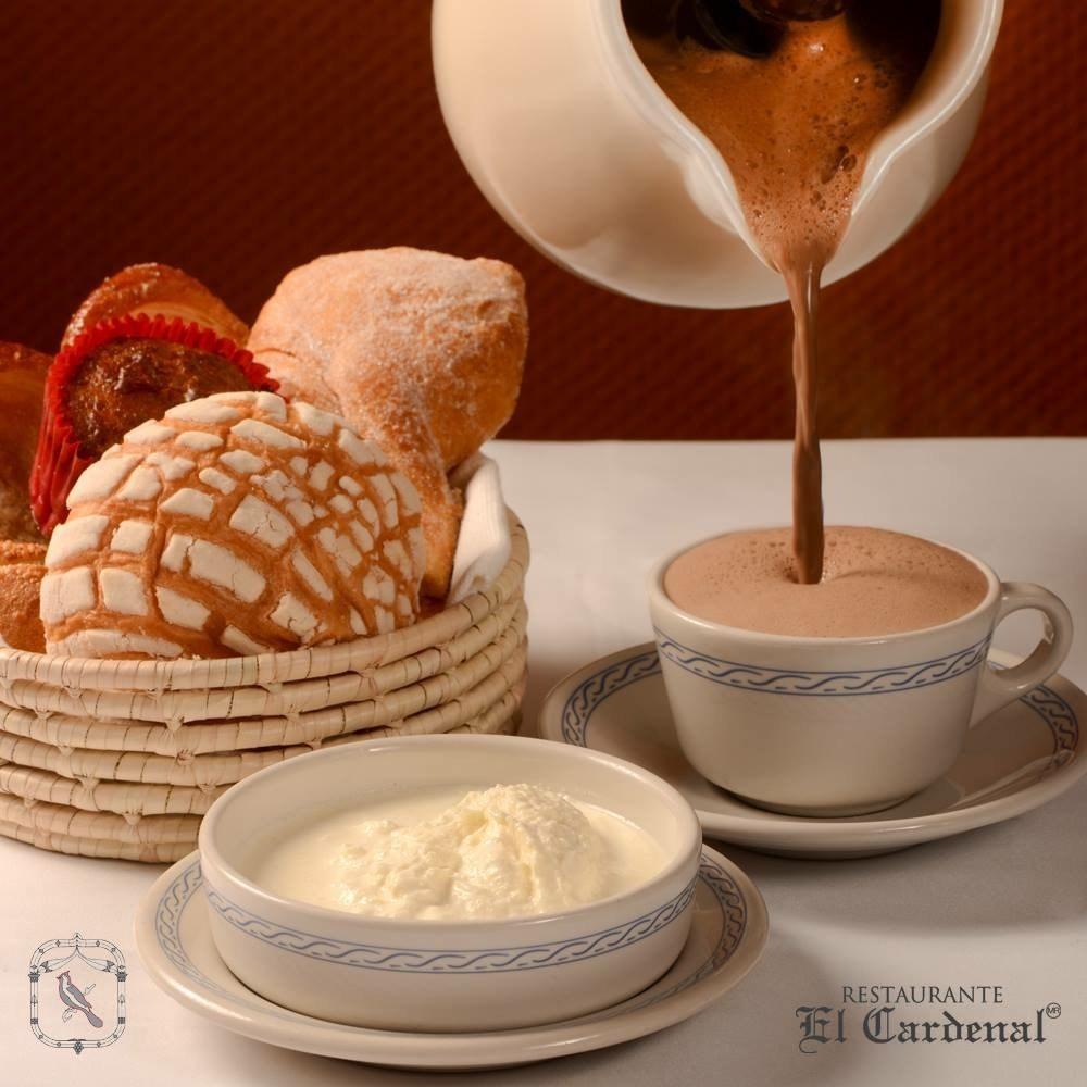 mejores lugares para tomar chocolate caliente el cardenal