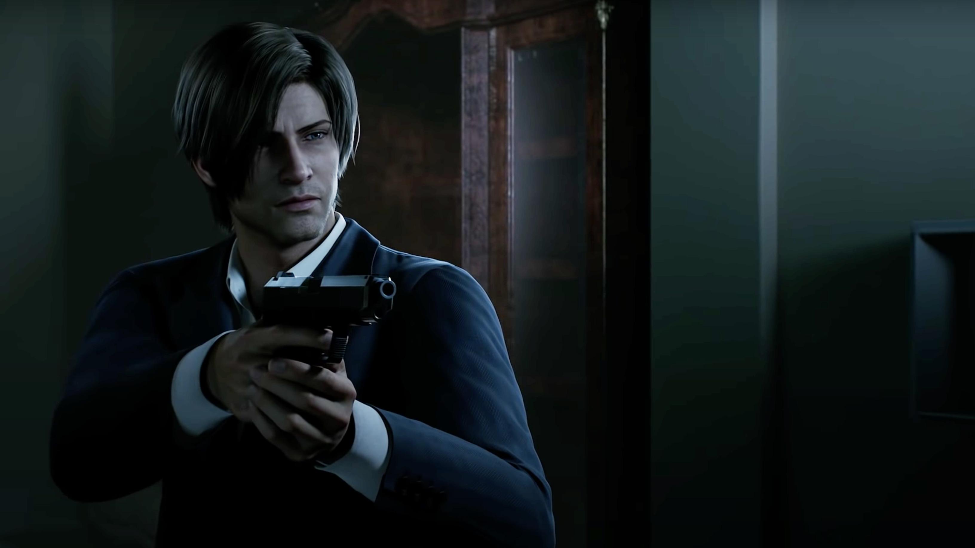 Leon Resident Evil Netflix