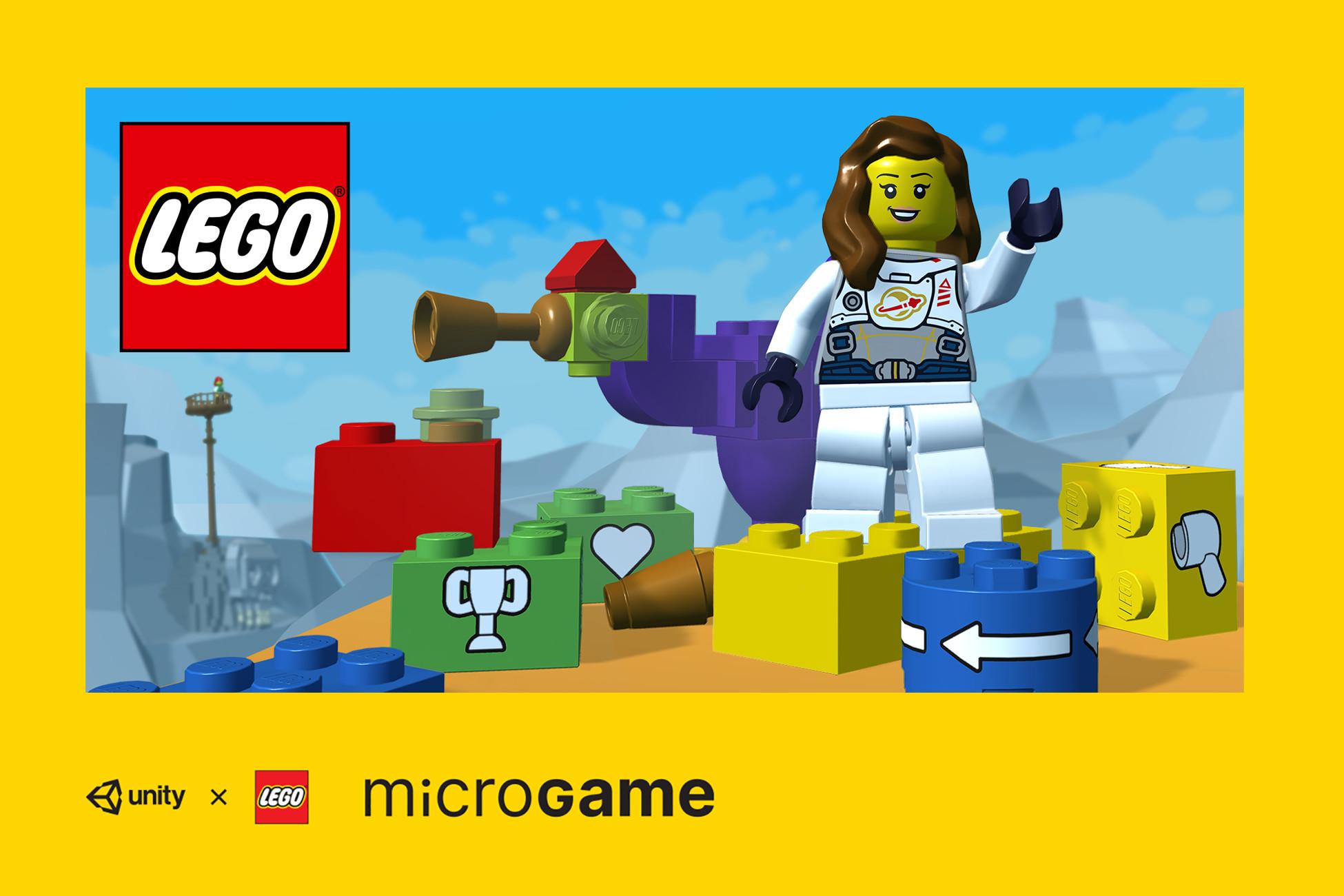 ¡Construye tu propio videojuego con Microgame Lego!