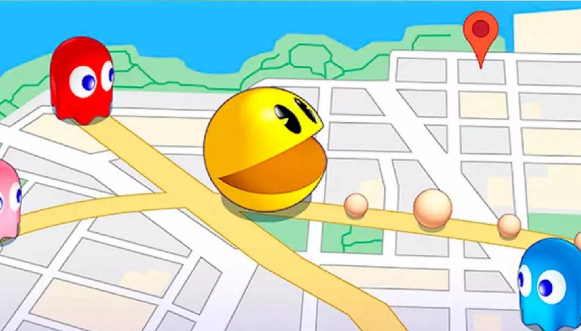 Pac Man Geo Kegeex