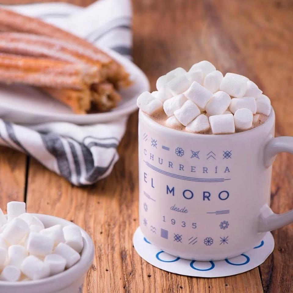 mejores lugares para tomar chocolate caliente el moro