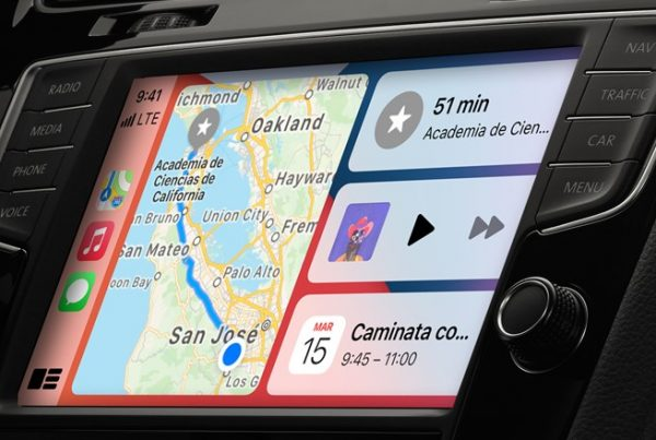 CarPlay y Waze Apple