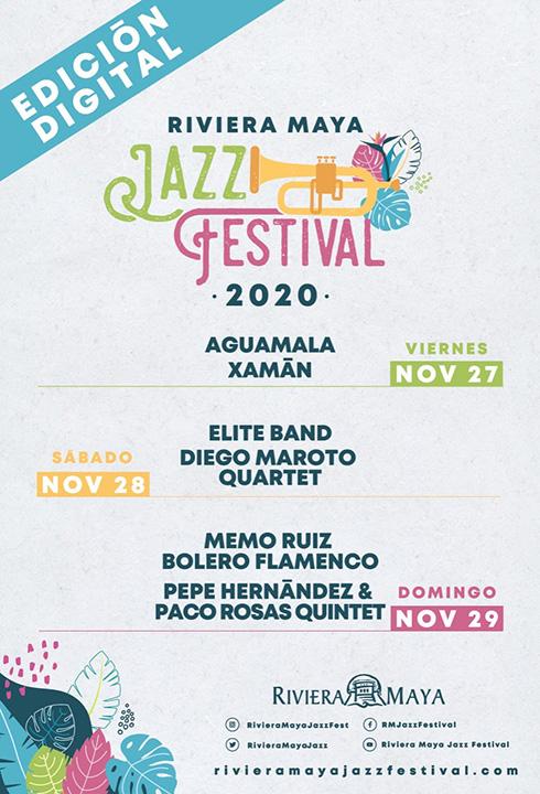 Festival de Jazz de la Riviera Maya 2020 Kegeex Música