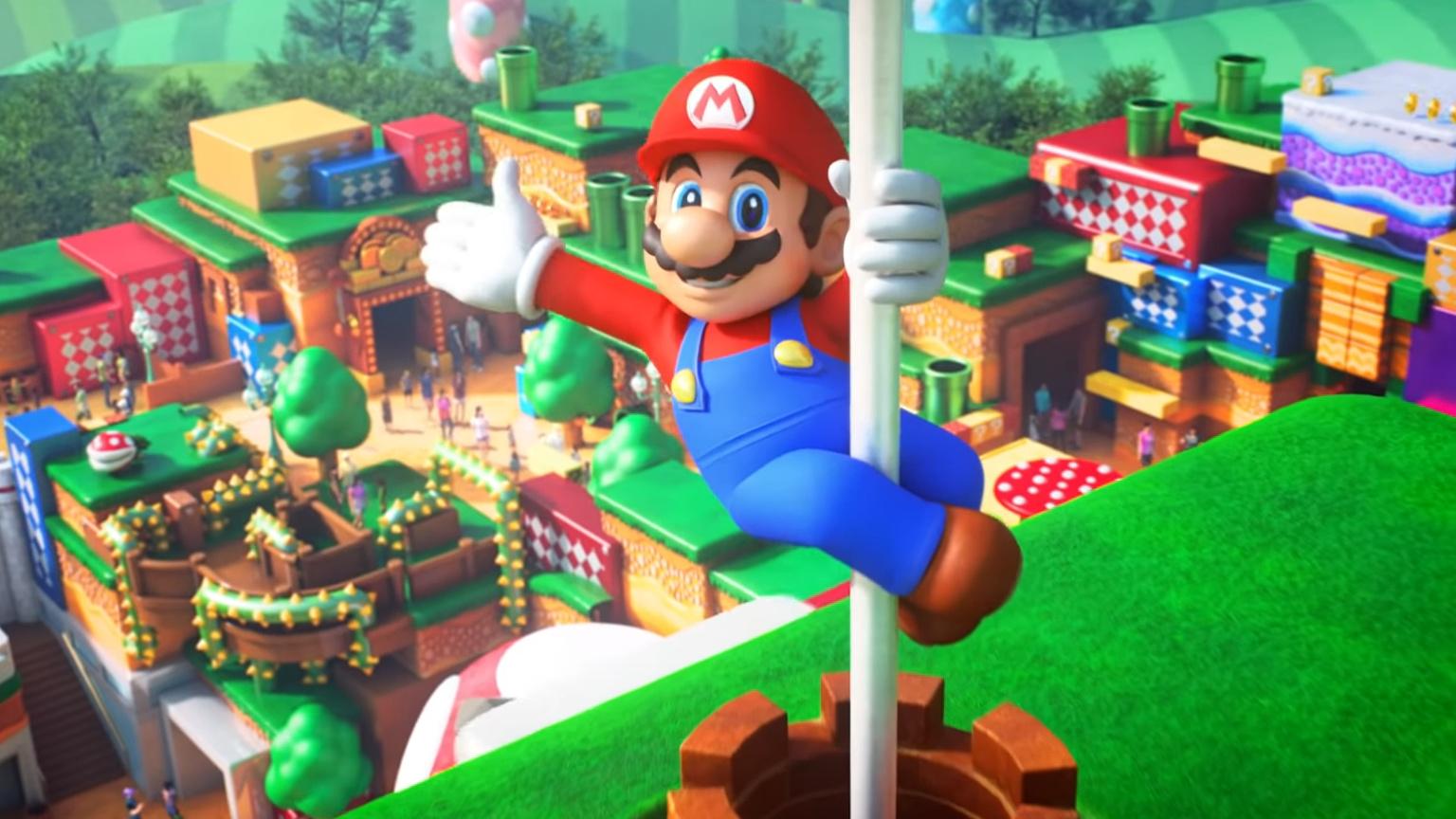 Super Nintendo World está por abrir con estas sorpresas