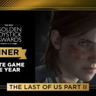 The Golden Joystick Awards 2020 The Last of Us Part 2