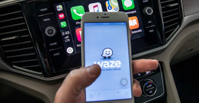 Waze y CarPlay