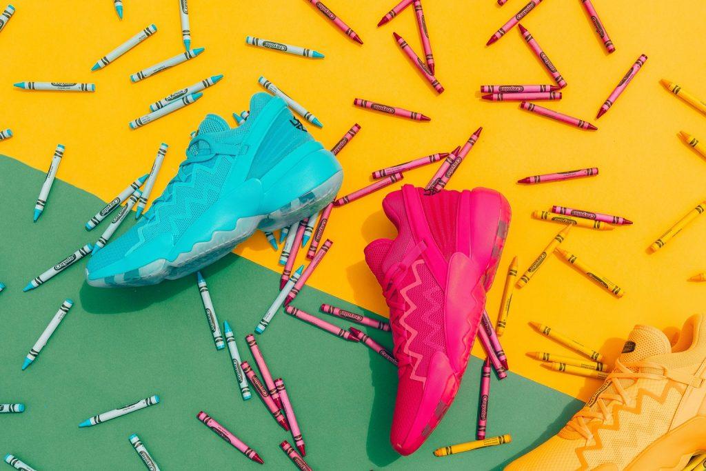 Adidas Crayola tenis colaboracion tendencia