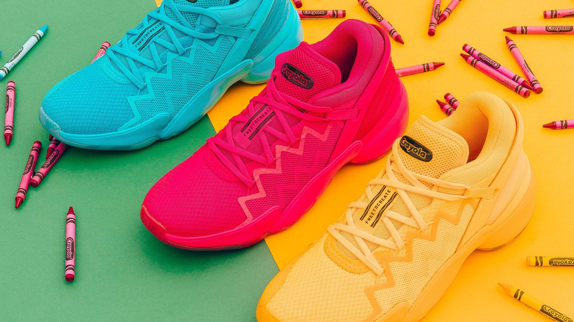 Adidas x Crayola: la colección que estamos seguros que vas a querer