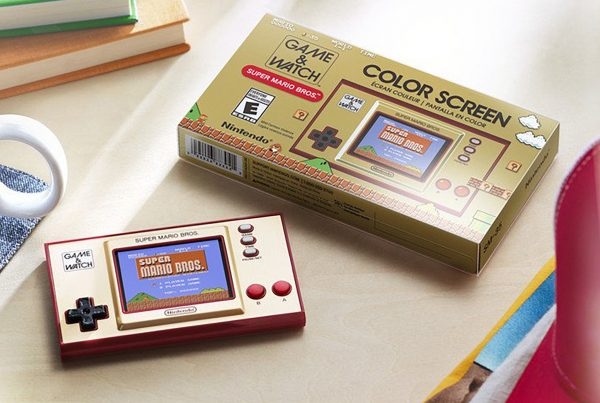 mini computadora Game & Watch de Nintendo