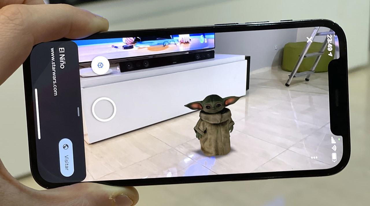 Baby Yoda 3D en tu casa