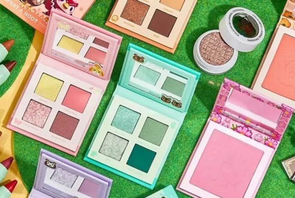 Este videojuego ha inspirado toda una colección de maquillaje Animal Crossing ColourPop