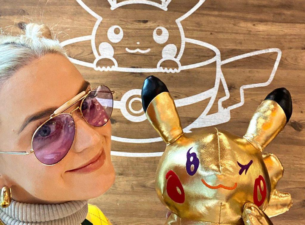Katy Perry Pokemon Pikachu