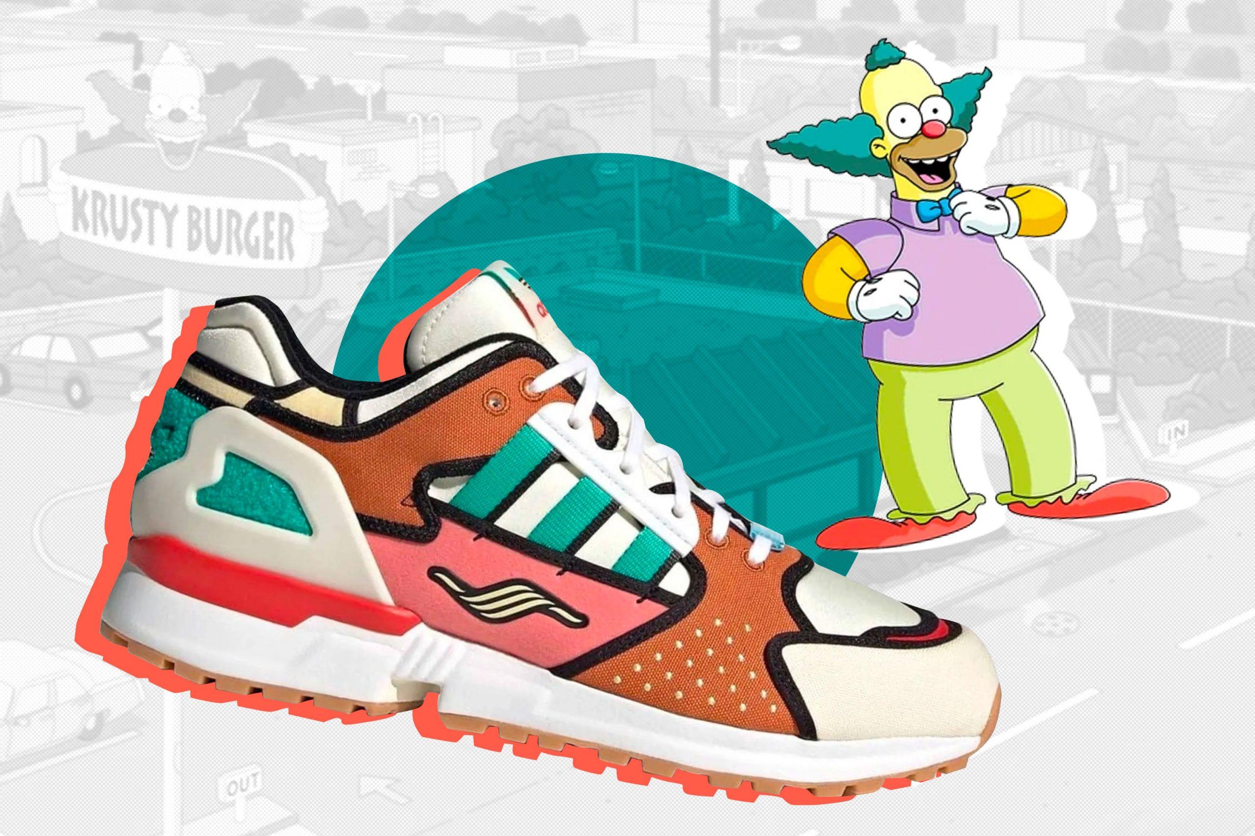 Adidas se inspira en Los Simpson para crear una edición especial de sneakers