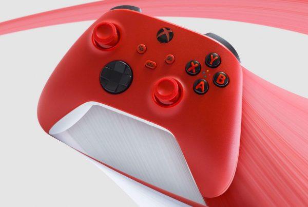 Pulse Red nuevo control rojo XBOX Series 2021