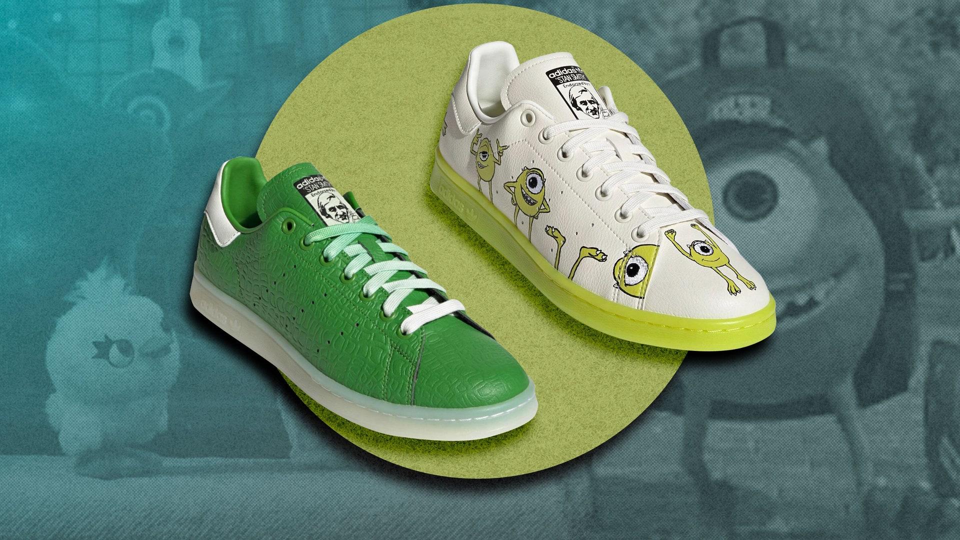 Pixar lanza una nueva colección de sneakers de Adidas ¡Conócela!
