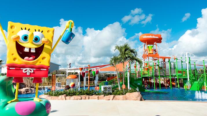¡Sol, arena y Bob Esponja! Sumérgete en el hotel temático de Nickelodeon en Riviera Maya