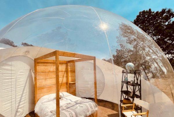 ¡Duerme en una burbuja bajo las estrellas! Pasa una noche en el primer hotel burbuja en CDMX