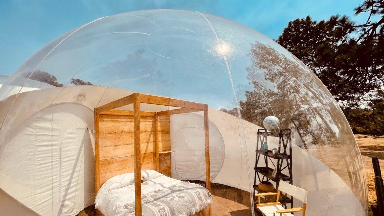 ¡Duerme bajo las estrellas! Hospédate en el primer hotel burbuja en CDMX