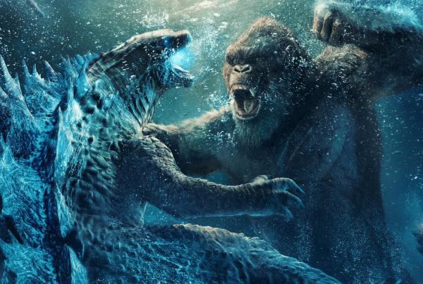 Godzilla vs Kong el combate colosal del MonsterVerse llegó a cines con un invitado robótico