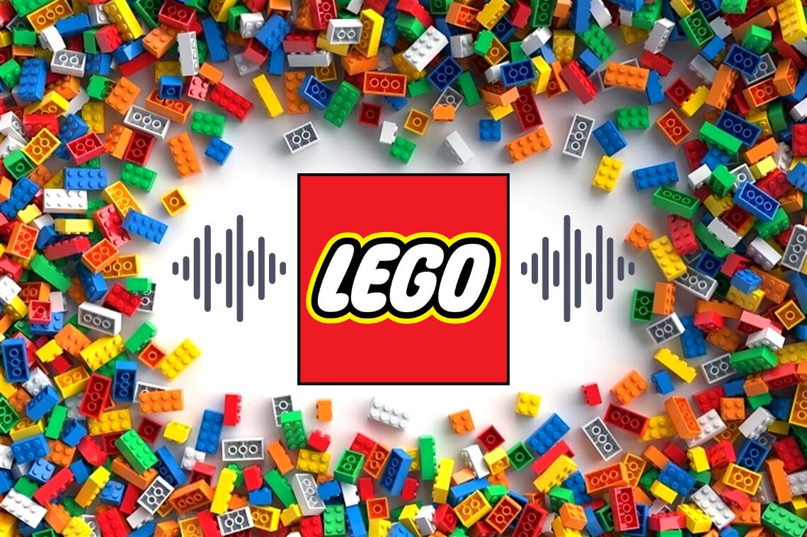 La playlist de LEGO te transportará a cuando eras niño y jugabas con bloques