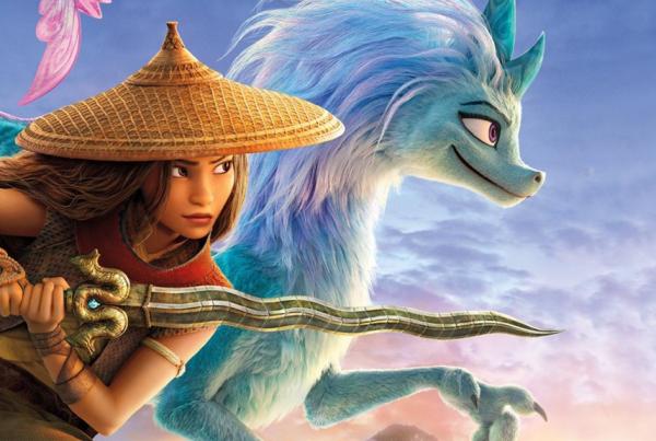 Raya y el último dragón estreno nueva película en Disney Plus