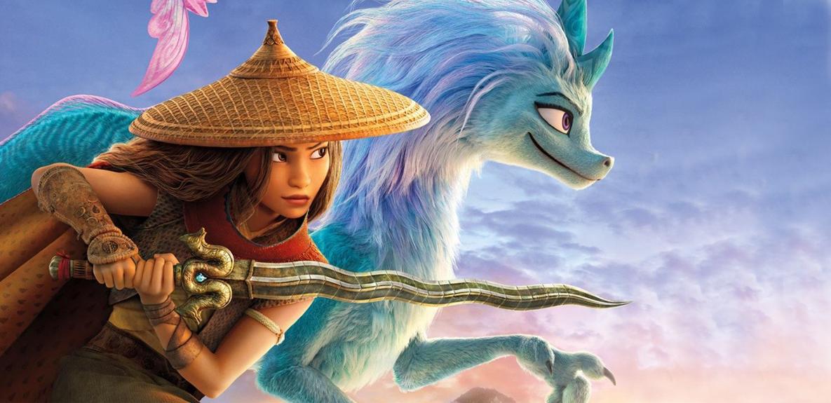 Raya y el último dragón, se acerca la magia en el estreno de la nueva película de Disney Plus