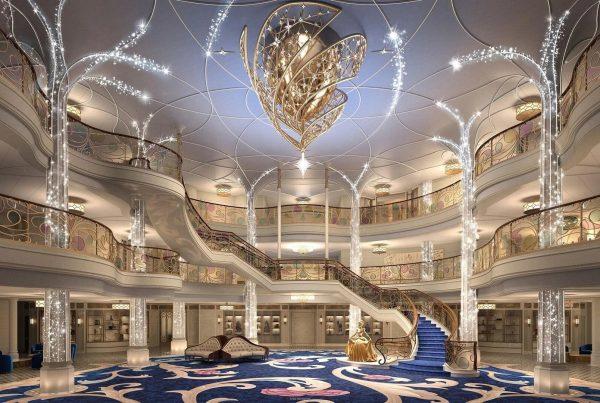 Vacaciones mágicas navegando en el mar en el nuevo crucero Disney Wish