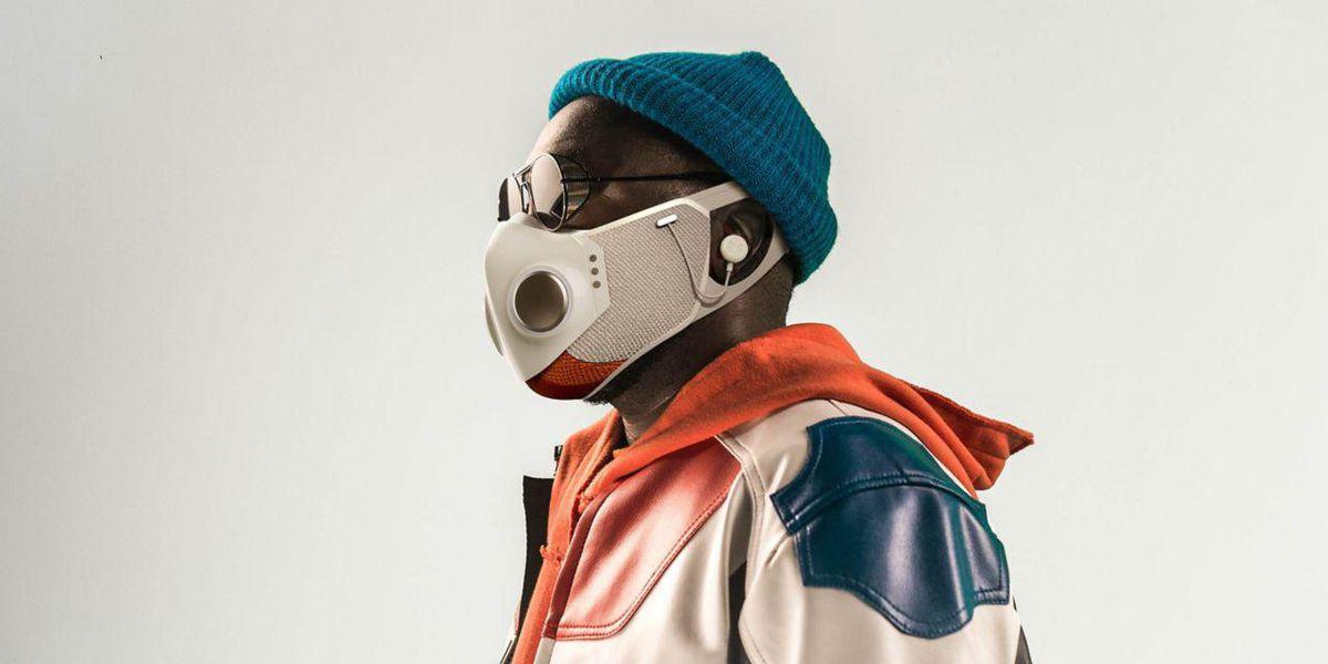 Xupermask: La mascarilla con audífonos creada por el diseñador de SpaceX y Will.i.am