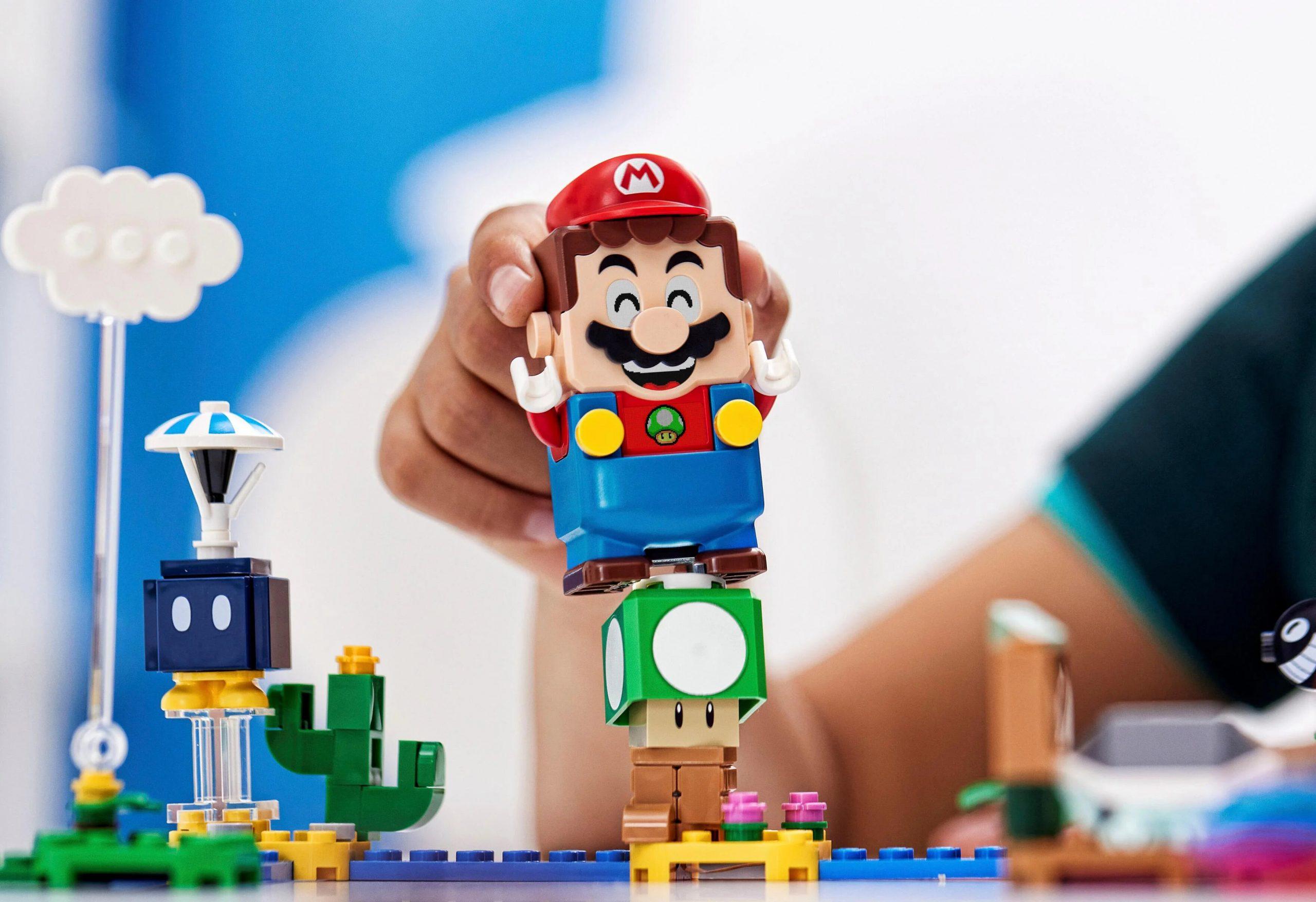 ¡Nuevo LEGO Mario! Se relevaron las imágenes del set más grande hasta ahora