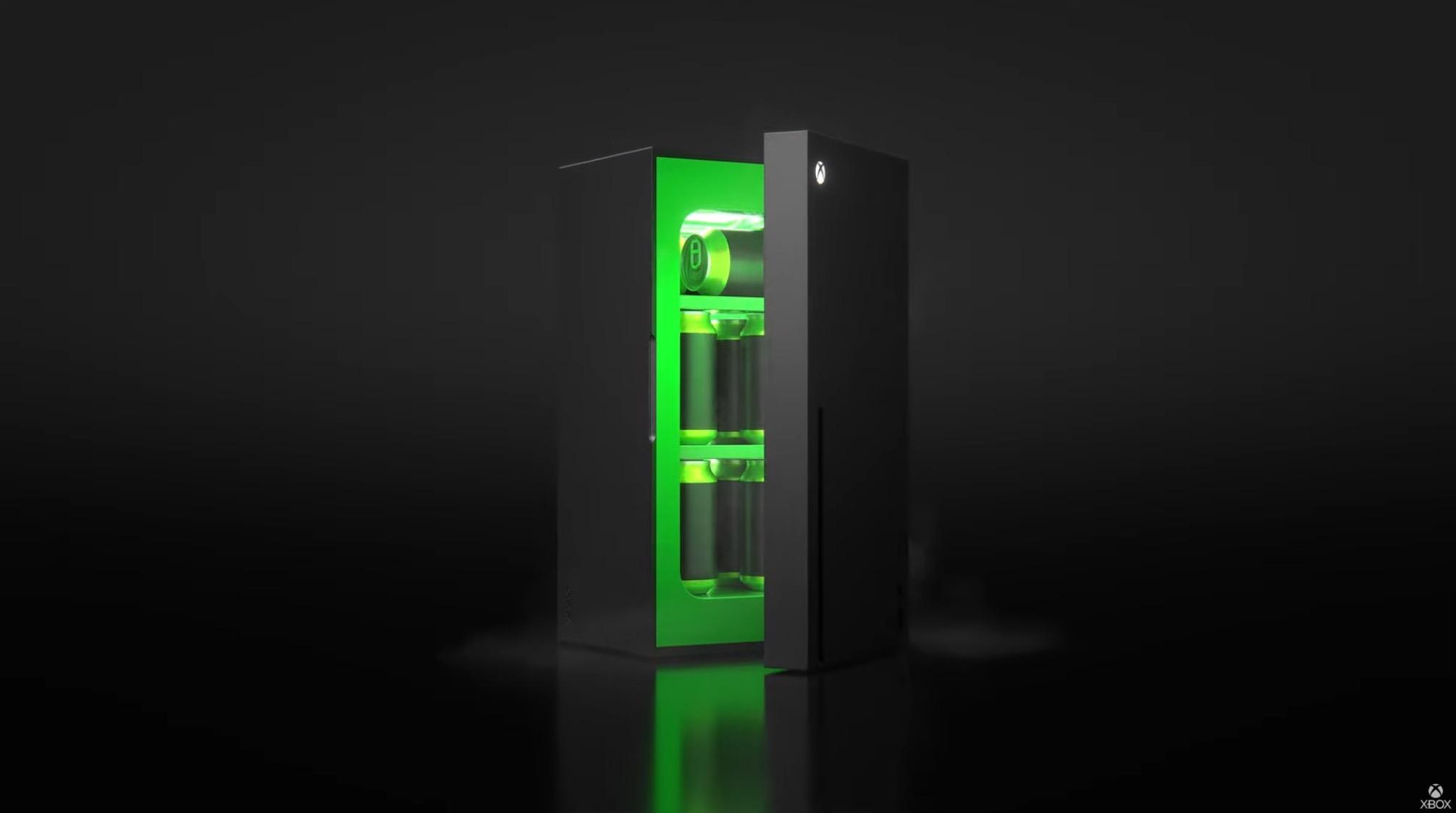 ¡Refrigerador next gen! Microsoft presenta el XBOX Mini Fridge en E3 2021