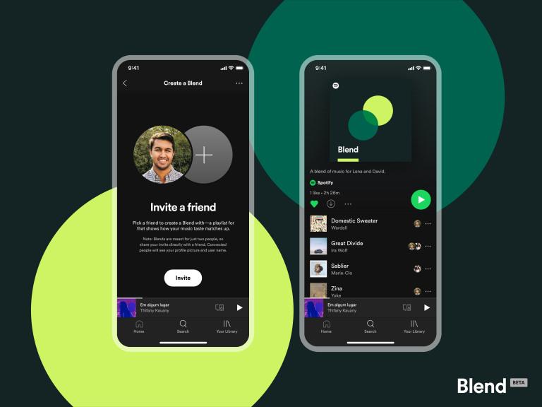 Playlist para dos Blend Beta Spotify