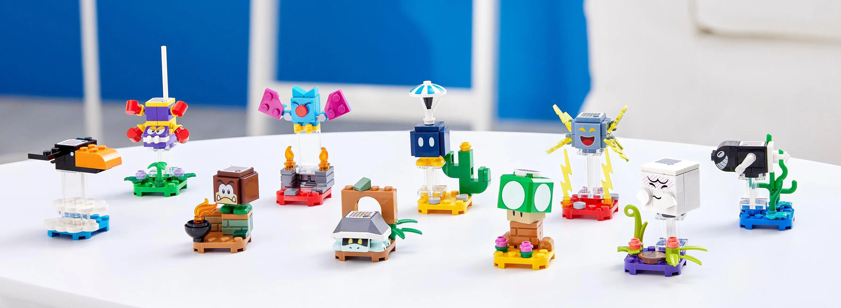 Set 10 figuras LEGO Mario
